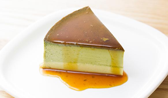 Bánh Pudding vị trà xanh Matcha