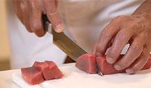 cắt cá ngừ Hira-zukuri