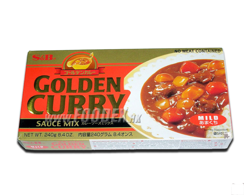 Cà ry bò nóng (S&B)- Curry Golden hot