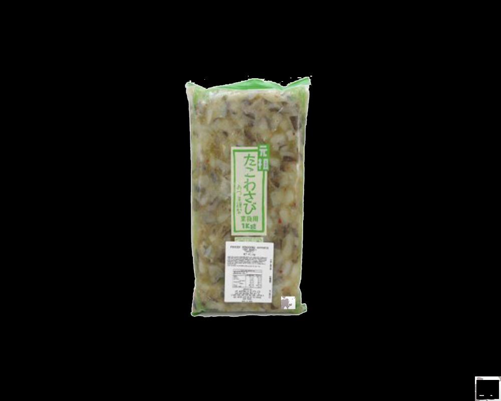 Bạch tuộc muối- Tako Wasabi