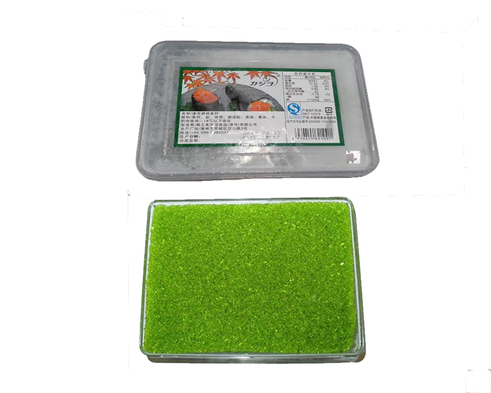 Trứng cua xanh- Tobikko Green