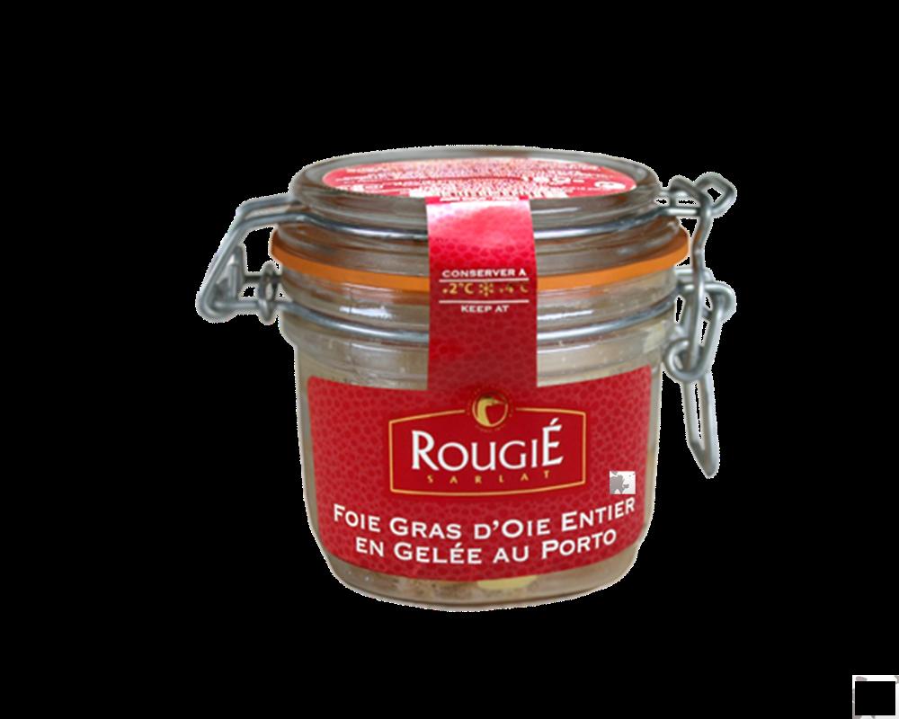 Pate gan ngỗng- foie gras & Port Wine Aspic