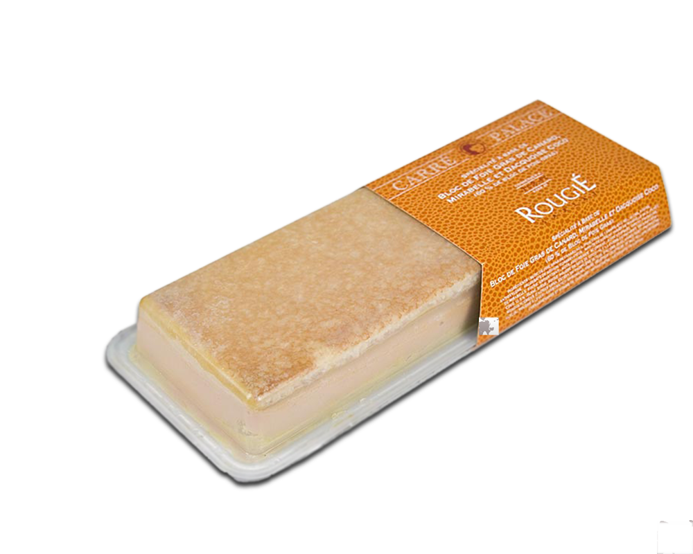 Pate gan ngỗng-Mirabelle Plum, Dacquoise, Coconut