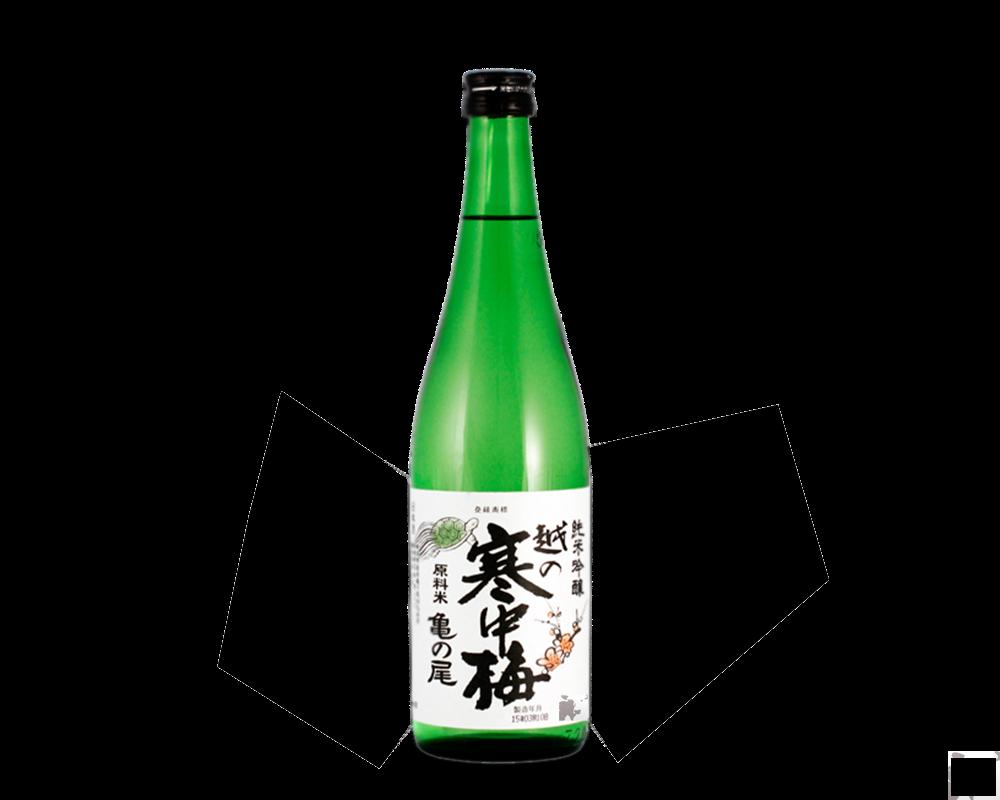 Sake Koshino Kanchubai junmai ginjo-越の寒中梅 金ラベル 純米吟
